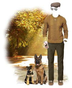 """Leisure Autumn Men's Fashion"" by pwhiteaurora ❤ liked on Polyvore featuring Maison Margiela, Fjällräven, Ermenegildo Zegna, Stetson, FOSSIL, Casetify, WALL, men's fashion and menswear"