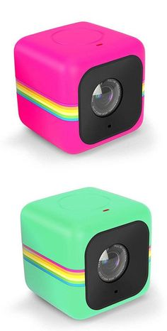 The Polaroid Cube+ is a tiny, water-resistant action camera with built-in Wi-Fi.