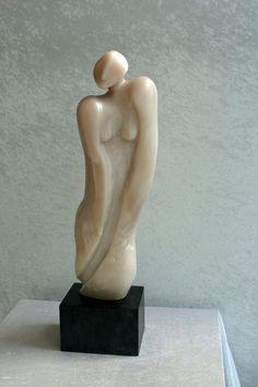 Steatitskulptur aus der Ausstellung der Kunstagentur Bild & Raum