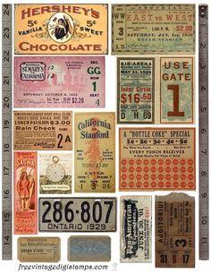 Vintage Printable images