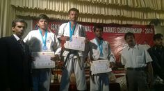 ,JSKA-International open karate championship 2015. on 26 and 27 December 2015 in Kerala. My students won the medals