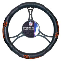Chicago Bears Steering Wheel Cover (14.5 to 15.5)