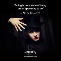 Masterfully appear to be the best version of your character. #theatre #acting #actinginspiration #actingquotes #broadway #thespians