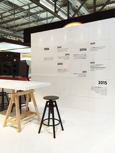 Progetto Stand di Bauxt #MadeExpo 2015 Milano © http://www.visualdisplay.it/
