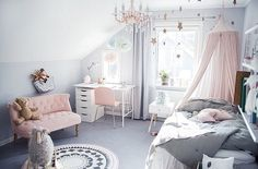 "Immy and Indi on Instagram: ""This would have been my dream room as a kid, just magical @tildabjarsmyr """