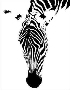 zebra art~