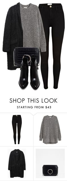 """Untitled #6360"" by laurenmboot ❤ liked on Polyvore featuring River Island, H&M, Isabel Marant, Bandolera and Alexander Wang"