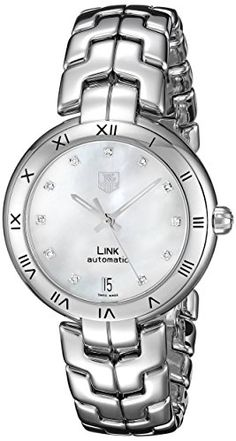 TAG Heuer Women's WAT2315.BA0956 Link Analog Display Swiss Automatic Silver Watch * Be sure to check out this awesome product.