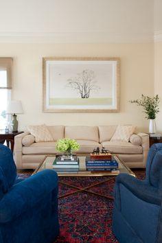 Livingroom #makeover by Decorist Elite Designer @nystromdesign | Decorist