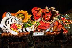「ハネト」の衣装で参加!巨大ねぶたが迫力満点な東北最大の祭
