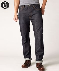 Levi's 501® Original Fit Made in the USA Jeans - Raw