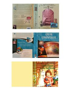 American girl printable book cover