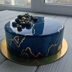 Golden Birthday Cakes, Small Birthday Cakes, Pretty Birthday Cakes, 40th Birthday Cakes, Pretty Cakes, Cute Cakes, Beautiful Cakes, Amazing Cakes, Nutella Birthday Cake