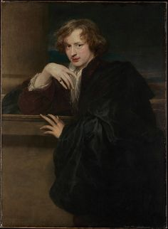 Anthony van Dyck (Flemish, 1599–1641). Self-Portrait, 1620–21. The Metropolitan Museum of Art, New York. The Jules Bache Collection, 1949 (49.7.25)