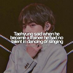 as if i'd believe he didn't have this much talent before Bts Quotes, Fact Quotes, Bts Suga, Bts Bangtan Boy, Bts Facts, Army Love, Cute Anime Guys, V Taehyung, Bts Boys