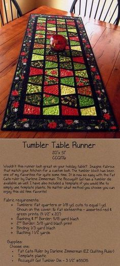 The Spicy Spiral Table Runner Can Give Your Dining Room A Bold New