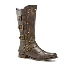 "BX by Bronx ""Maron"" Riding Boot, $99"