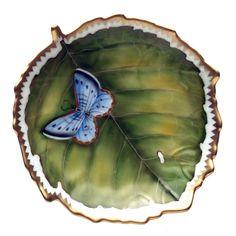 Anna Weatherley Twigs Tea Saucer/ Floating Leaf Dish