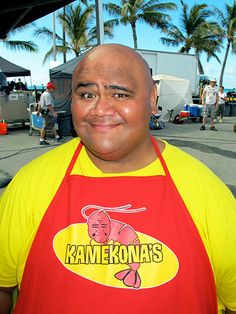 Love this big guy! He's a hoot in Forgetting Sarah Marshall and on Hawaii 5-0.