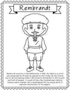 Benjamin Franklin Coloring Page Craft or Poster, STEM