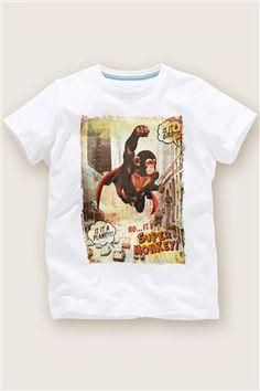 White Monkey T-Shirt