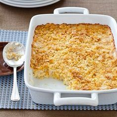 """THOSE POTATOES (aka """"Funeral Potatoes"""", but soon to be renamed something less depressing!)"""