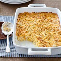 "Cheesy Potato Casserole (aka ""Funeral Potatoes"")"