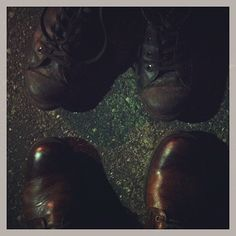 Best part of leaving work, is switching shoes.   Photo by photographerson