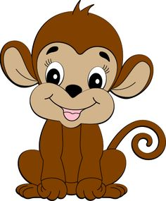monkey clip art clip art zoo jungle animals clipart rh pinterest com free monkey clip art for kids free monkey clip art images