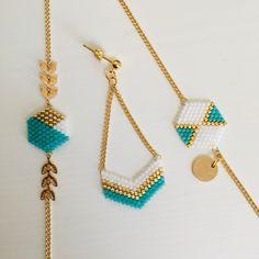 Bracelet Crafts, Jewelry Crafts, Beaded Bracelets, Handmade Wire Jewelry, Earrings Handmade, Bead Jewellery, Bling Jewelry, Jewelry Accessories, Jewelry Necklaces
