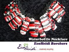 How to Make a Reverse Painted Waterbottle Necklace by EcoHeidi Borchers - YouTube