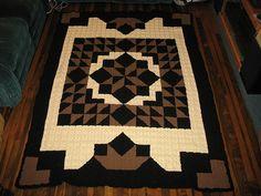 Free Crochet quilt pattern ... http://freecrochetpatterns3808.blogspot.com/