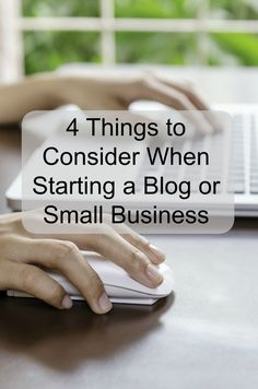 Today I've got 4 Things to Consider When Starting a Blog or Small Business! - Love, Pasta and a Tool Belt #notcom #smallbiz AD | blog ideas | business tips | business ideas #smallbusiness small business ideas wahm ideas