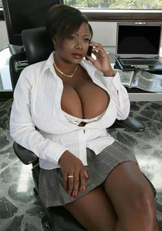 Busty ebony mature tube