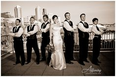 Special pic with the Groomsmen, because they are my friends too!