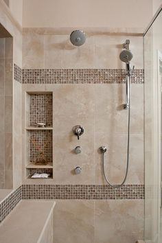 Niche Awesome Shower Tile Ideas Make Perfect Bathroom Designs Always Beautiful Gl Cover Metalic