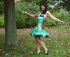 One of my first u:her designs from 3 years ago, made of a beautiful vibrant green silk embroidered with flowers and birds. I couldn't help but twirl and smile in this dress! Green Silk, Embroidered Silk, 3 Years, Custom Design, Vibrant, Birds, Smile, Flowers, Clothing