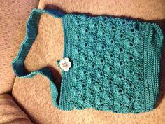 Crocheted purse