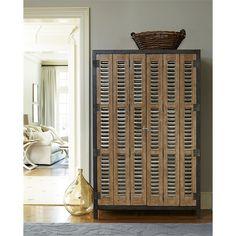 Universal Furniture 414690 Moderne Muse Libations Locker In Bisque