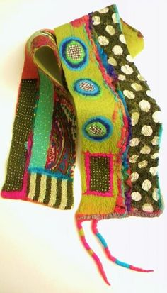 Scarves and Collars - Jennifer Tsuchida - Felt Artist