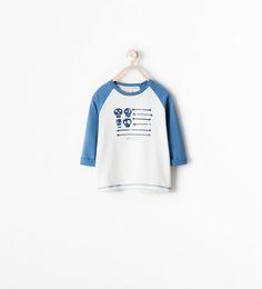 Image 1 of SKULL PRINT T-SHIRT from Zara
