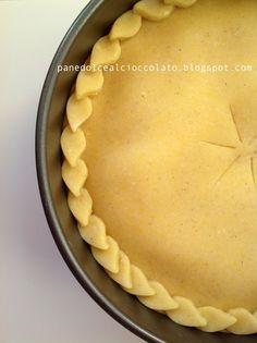 crostata con crema frangipane alle mandorle e ricotta | PANEDOLCEALCIOCCOLATO