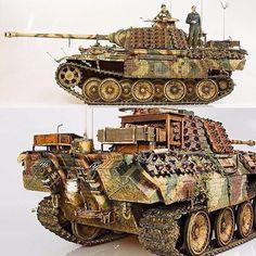Panther Ausf. A 1/15 Scratch Built. Modeler Uwe Henning #scalemodel #plasticmodel #plastimodelismo #hobby #usinadoskits #udk #scalemodelkit