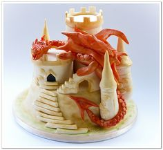 Debbie Brown inspired Dragon castle