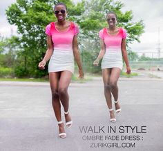 Walk in style with zurikgirl.com  !! Our Summer Ombré Fade Dress is back in limited stock!!