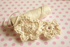 How to make crochet flower? Find it on my blog :)