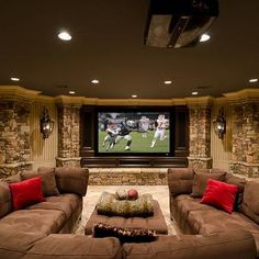 Basements   U Shaped Sectional Sofa   Design Photos, Ideas And Inspiration.  Amazing Gallery Of Interior Design And Decorating Ideas Of U Shaped  Sectional ...