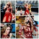 Finally the colombain star Shakira performed at the 2014 FIFA World Cup Closing Ceremony. She performed one hour before the Final Match of 2014 FIFA Word Cup which will be played today in between the Germany and Argentina. After the glorious performance at...