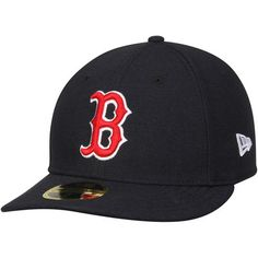 759d4a02f3dc7 Boston Red Sox New Era Authentic Collection On Field Low Profile Game  59FIFTY Fitted Hat - Navy