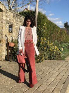 Velours d'amour - La Mode de Melissa Blazer, Fashion Week, Corduroy, Trousers, Unique, Inspiration, Tops, Women, Velvet